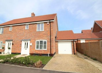 Thumbnail 3 bedroom semi-detached house for sale in Whiley Lane, Stalham, Norwich