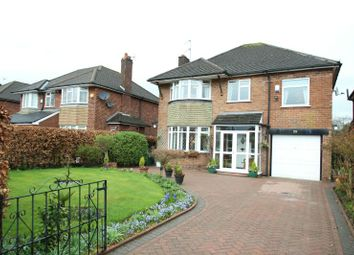 Thumbnail 4 bed detached house for sale in Ravenwood Drive, Hale Barns, Altrincham
