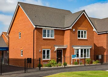 "Thumbnail 4 bed detached house for sale in ""The Cambridge"" at Stonebow Road, Drakes Broughton, Pershore"