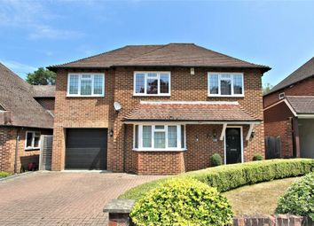 Thumbnail 4 bed detached house for sale in Lovelace Drive, Pyrford, Woking