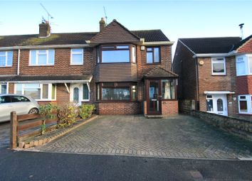 Thumbnail 3 bed end terrace house for sale in Hilltop Road, Frindsbury, Kent