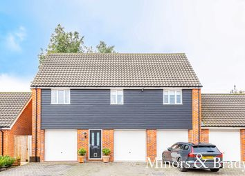 Thumbnail 2 bed link-detached house for sale in Byfords Way, Watton, Thetford
