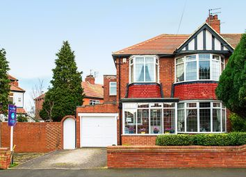 Thumbnail 3 bed semi-detached house for sale in Polwarth Crescent, Newcastle Upon Tyne, Tyne And Wear