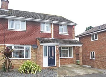 Thumbnail 3 bed semi-detached house for sale in Calluna Drive, Bletchley, Milton Keynes