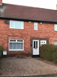 Thumbnail 3 bed terraced house to rent in Bidford Road, Nottingham