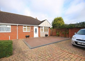 Thumbnail 2 bed semi-detached bungalow for sale in Summerleaze Court, London Road, Great Notley, Braintree, Essex