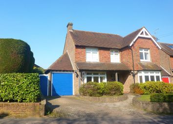 Thumbnail 4 bed detached house to rent in Smoke Lane, Reigate, Surrey