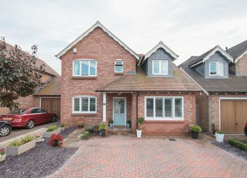 Thumbnail 4 bed detached house for sale in Deans Close, Fontwell, Arundel