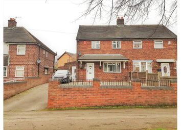 Thumbnail 2 bed semi-detached house for sale in Bradwell Lane, Newcastle