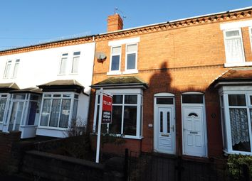 Thumbnail 2 bed terraced house to rent in Loxley Road, Bearwood
