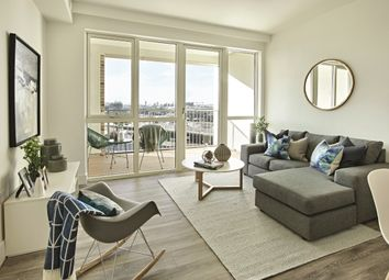 Thumbnail 1 bed flat to rent in 4 Silvertown Way, London