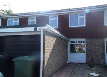 Thumbnail 3 bed terraced house to rent in Blakemere Close, Winyates East, Redditch