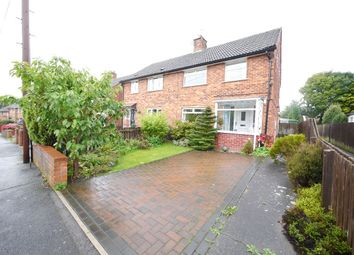 Thumbnail 3 bed semi-detached house to rent in Abbots Way, Morpeth