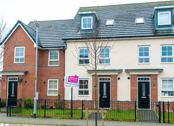 Thumbnail 4 bedroom town house for sale in Carpenters Close, Buckshaw Village, Chorley