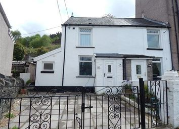 Thumbnail 2 bed end terrace house for sale in Rhiw Parc Road, Abertillery