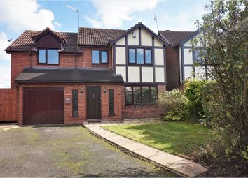Thumbnail 4 bed detached house for sale in Avon Close, Bromsgrove
