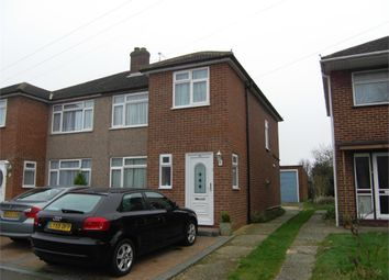Thumbnail 3 bed semi-detached house to rent in Roundmoor Drive, Cheshunt, Waltham Cross, Hertfordshire