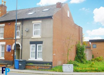 Thumbnail 6 bed end terrace house to rent in Uttoxeter Old Road, Derby