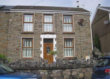 Thumbnail Semi-detached house for sale in Alltygrug Road, Ystalyfera, Swansea.
