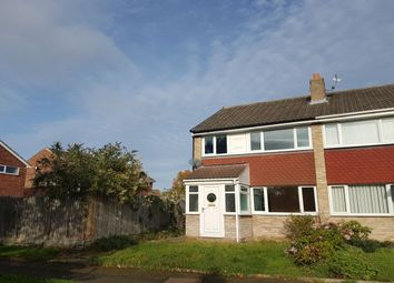 Thumbnail 3 bed semi-detached house to rent in Thornthwaite, Acklam, Middlesbrough