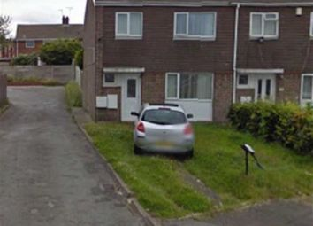 Thumbnail 3 bedroom end terrace house for sale in Spruce Grove, Kirkby-In-Ashfield, Nottinghamshire