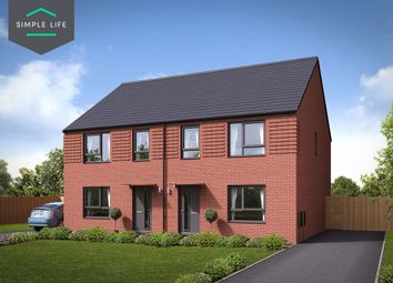 Thumbnail 4 bed semi-detached house to rent in Plot 17, Hazel, 264 Queen Mary Rd, Sheffield