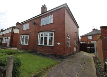 Thumbnail 2 bed semi-detached house for sale in Crossway Road, Sneyd Green, Staffordshire
