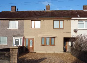 Thumbnail 3 bed terraced house for sale in Channel View, Port Talbot