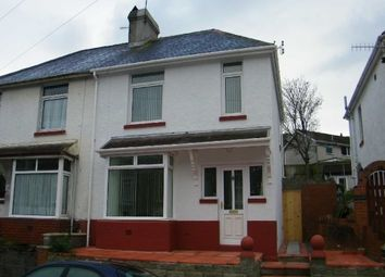 Thumbnail 3 bed semi-detached house to rent in Bath Road, Morriston, Swansea