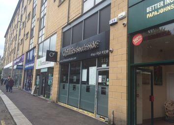 Thumbnail Retail premises to let in 317 Kilmarnock Road, Shawlands, Glasgow