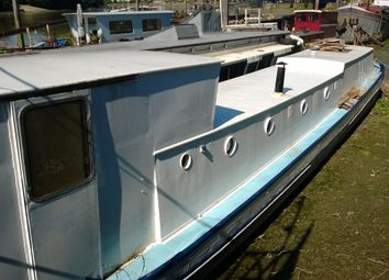Thumbnail 1 bed houseboat for sale in Lower Mall, London, London