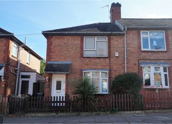 Thumbnail 3 bed end terrace house for sale in Alma Street, Leicester