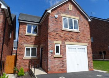 Thumbnail 4 bed detached house for sale in Truno Close, Blackpool