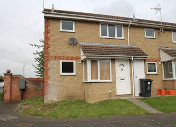 Thumbnail End terrace house to rent in Farriers Close, Swindon