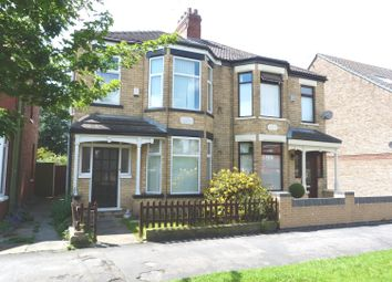 Thumbnail 3 bed terraced house for sale in Inglemire Avenue, Hull