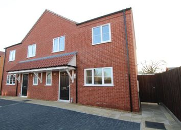 Thumbnail 2 bed semi-detached house for sale in Back Lane, Littleport, Ely