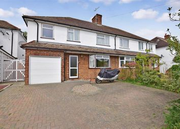 Thumbnail 3 bed semi-detached house for sale in Kings Road, Tonbridge, Kent