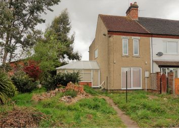 Thumbnail 2 bed end terrace house for sale in The Common, Leicester