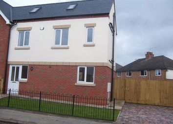 Thumbnail 2 bed semi-detached house to rent in Rutland Avenue, Hinckley