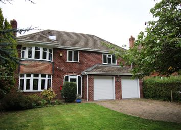 Thumbnail 6 bed detached house for sale in Burton Road, Lincoln