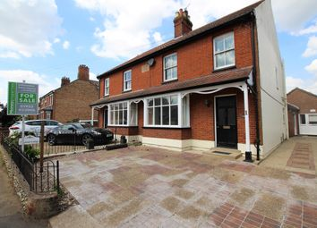 Thumbnail 3 bed semi-detached house for sale in London Road, Attleborough