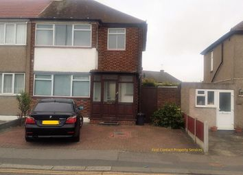 Thumbnail 3 bed terraced house to rent in Chadwell Heath Lane, Romford