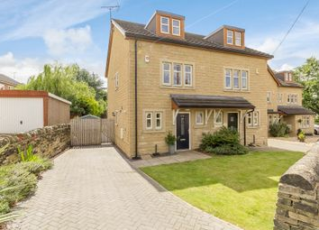 Thumbnail 4 bed semi-detached house for sale in Smalewell Road, Pudsey