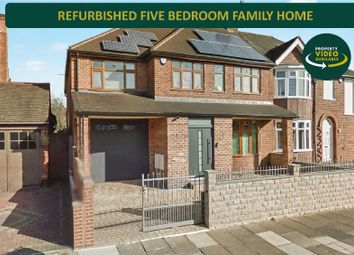 5 bed semi-detached house for sale in Midway Road, Evington, Leicester LE5