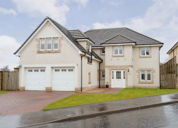 Thumbnail 5 bed detached house for sale in Cortmalaw Crescent, Robroyston, Glasgow