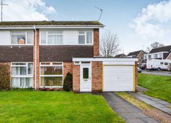 Thumbnail 3 bed semi-detached house for sale in Weston Close, Dunchurch, Rugby