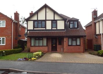 Thumbnail 4 bed detached house for sale in Cranesbill Drive, Worcester, Worcestershire, .