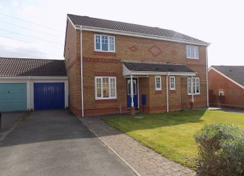 Thumbnail 3 bed semi-detached house for sale in Banc Gelli Las, Broadlands, Bridgend.