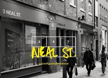Thumbnail Retail premises to let in 3, 5 & 7 Neal Street, Covent Garden, London
