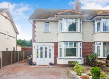 Thumbnail 3 bed semi-detached house for sale in Grandstand Road, Hereford